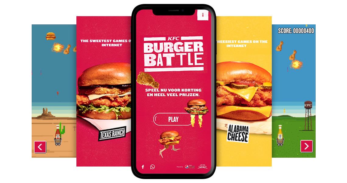 Work Kfc Burgerbattle 2